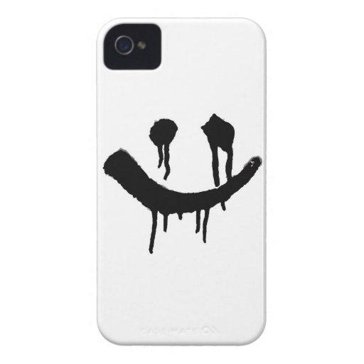 Smiles iPhone 4 Case-Mate Cases