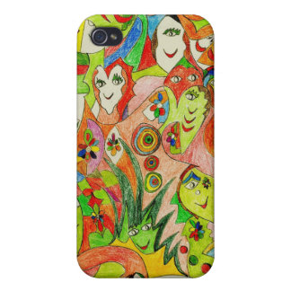 Smiles Covers For iPhone 4