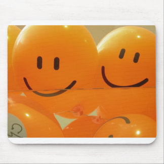 smiles mouse pad
