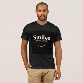 Smiles on the Camino tee shirt