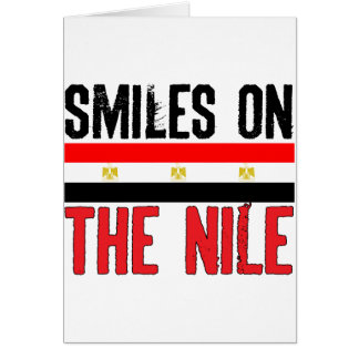 Smiles On The Nile Card