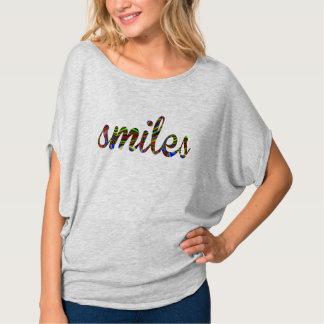 smiles positive vibes Women's Bella Flowy top