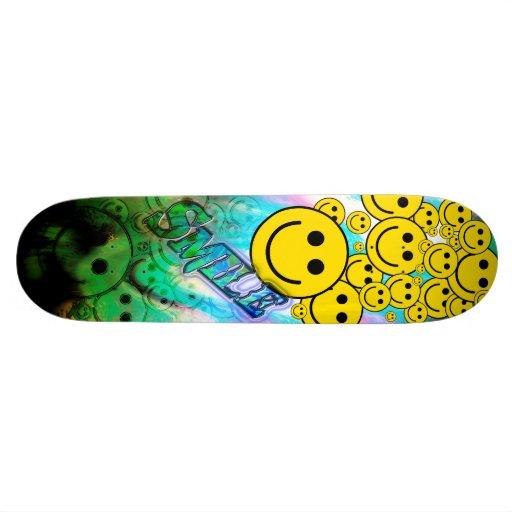 Smiles Skate Board Deck