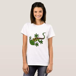 Smiletodaytees Funny Gecko Lizard Cartoon disneyT- T-Shirt