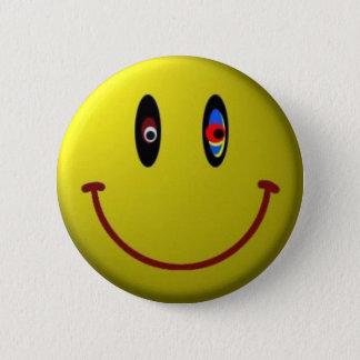 Smiley 2 Inch Round Button