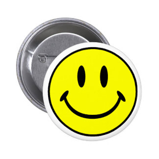 Smiley 2 Inch Round Button