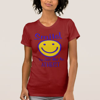 Smiley athée t shirts