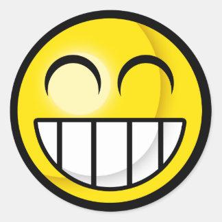 Smiley Big Grin Sticker