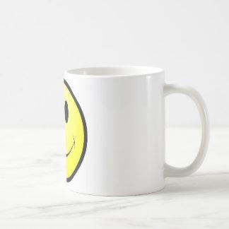 smiley buck tooth coffee mug