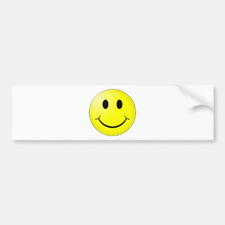 Smiley Bumper Sticker