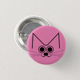 Smiley Cat 1 Inch Round Button