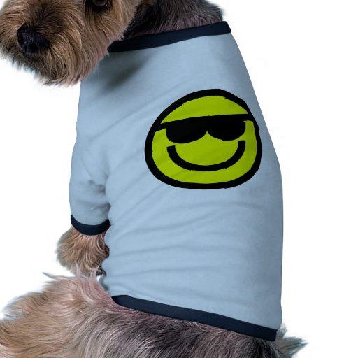 Smiley Tee-shirts Pour Toutous