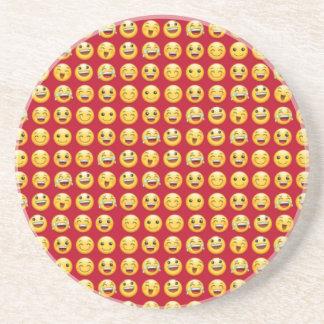 smiley coaster