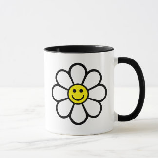 Smiley Daisy Mug