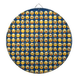 smiley dartboard