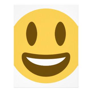 Smiley emoji letterhead