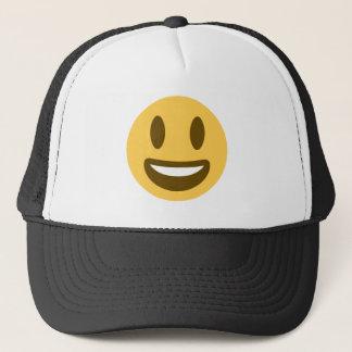 Smiley emoji trucker hat