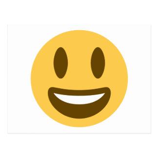 Smiley Emoji Twitter Postcard