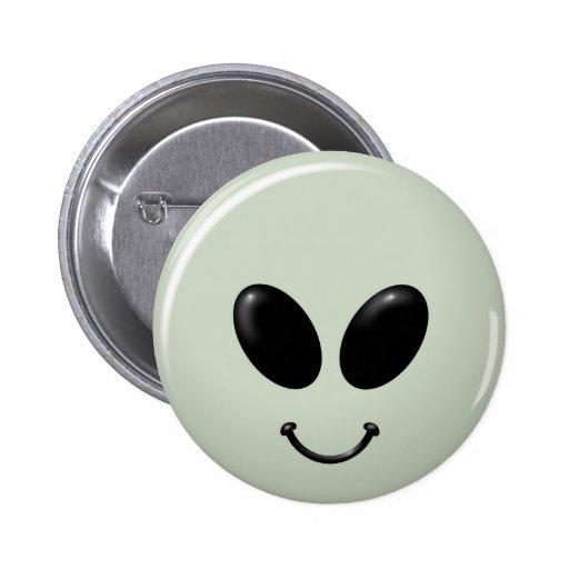 Smiley étranger Face.png Badges Avec Agrafe