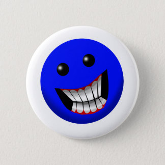 Smiley Face 2 Inch Round Button