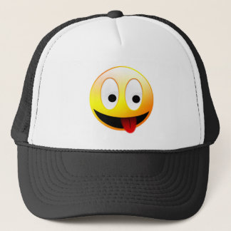 Smiley Face Apparel Trucker Hat