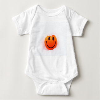 Smiley Face Baby Bodysuit