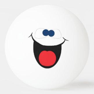 Smiley face ball ping pong ball