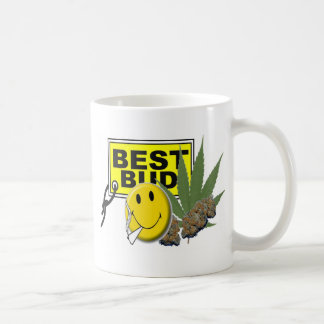 smiley face best bud collection coffee mug