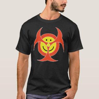 Smiley Face Biohazard T-Shirt