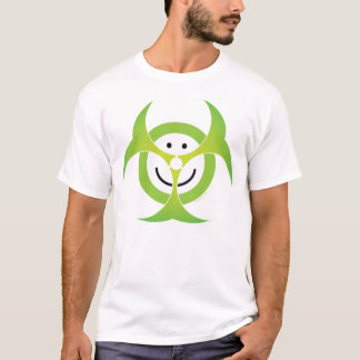 Smiley Face Biohazard T-Shirt