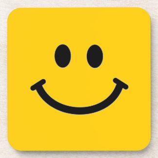 Smiley Face Coaster - Square (Customizable)