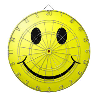 Smiley Face Dartboard