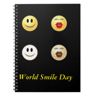 Smiley Face Day ! Spiral Notebook