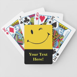 Smiley Face Deck of Cards