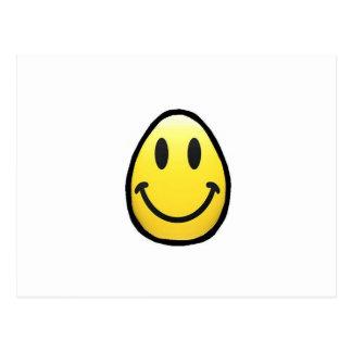 Smiley Face Egg-cellent Postcard