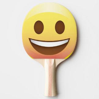 Smiley Face Emoji Ping Pong Paddle Summer Fun