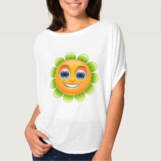 SMILEY FACE FLOWER T-Shirt