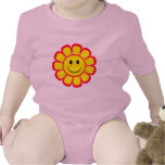Smiley Face Flower Tshirt