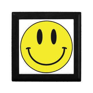 smiley face gift box