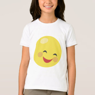 Smiley Face Girls T-Shirt