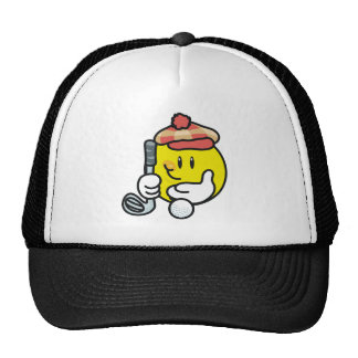 Smiley Face Golf T-shirts and Gifts Trucker Hats