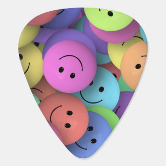 Smiley Face Guitar Pick