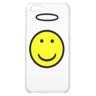 Smiley Face Halo iPhone 5C Cover