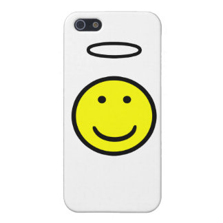 Smiley Face Halo Cover For iPhone 5