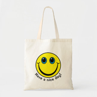 Smiley Face Have a nice day Tote Bag