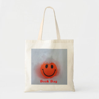 Smiley Face in Snow Tote Bag