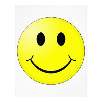 Smiley Face Letterhead