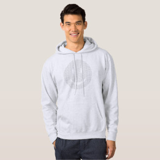 Smiley Face made of Smiley Faces Hoodie