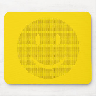 Smiley Face made of Smiley Faces Mouse Pad