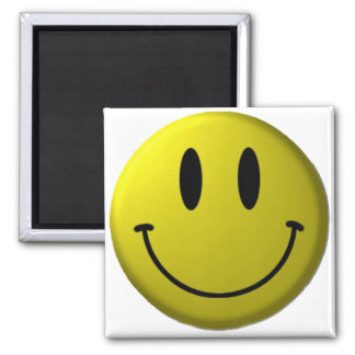 Smiley-face Magnet